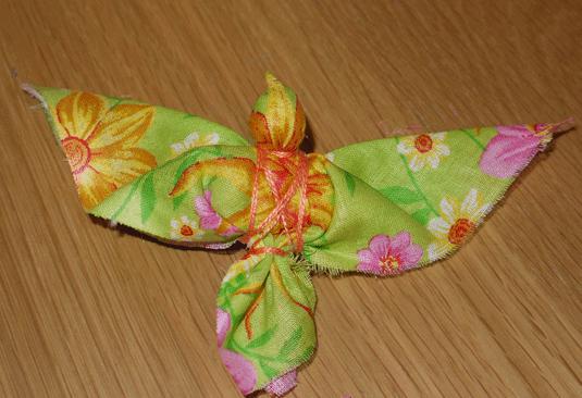Как сделать игрушку птицу из ткани